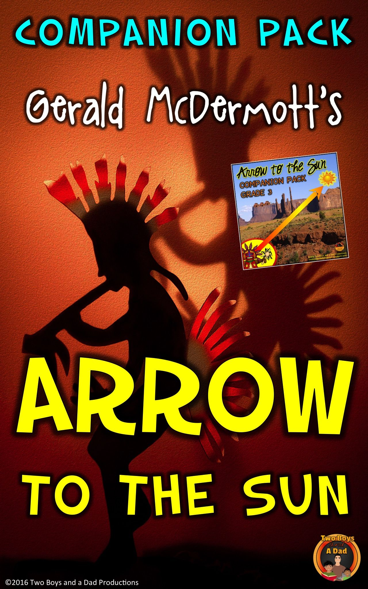 Arrow To The Sun Literature Standards Support Worksheets