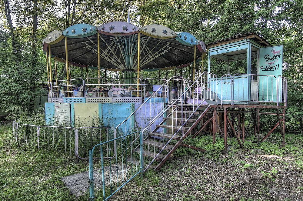 Заброшенный парк в Павлове стал «героем» шоу «Однажды в России» - фото 1