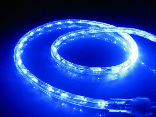 23 47 29 00 10ft Rope Lights Ocean Blue Led Rope Light Kit 1 0 Led Spacing Christmas Lighting Outdoor Rop Led Rope Lights Rope Lights Outdoor Rope Lights