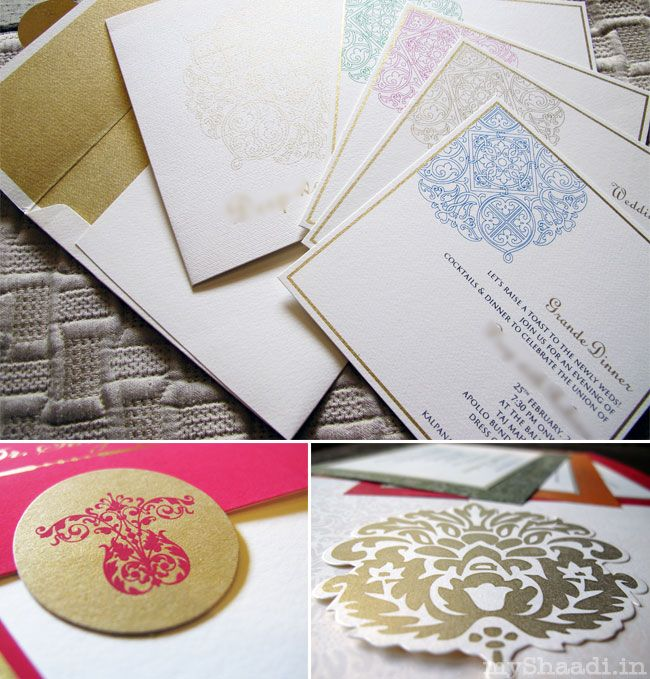 Indian Wedding Cards Trends 2017 Myshaadi In India