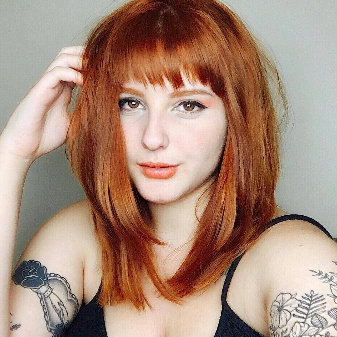 Best Elegant Short Red Hairstyles for True Redheads   Red