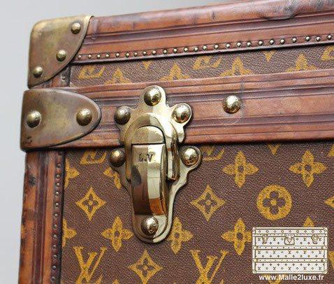 Epingle Par Malle2luxe Sur Guide D Achat Malle De Luxe Malle Valise Ancienne Et Vintage Louis Vuitton