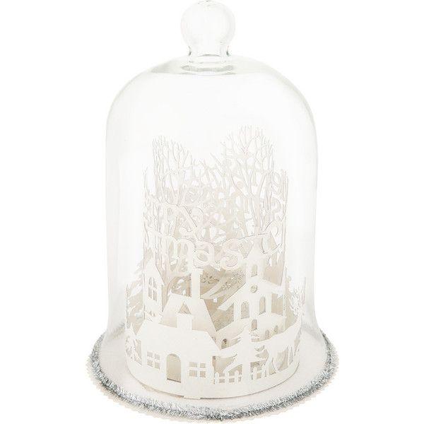Gisela Graham Christmas Tree Dome Ornament (50 CAD) ❤ liked on ...