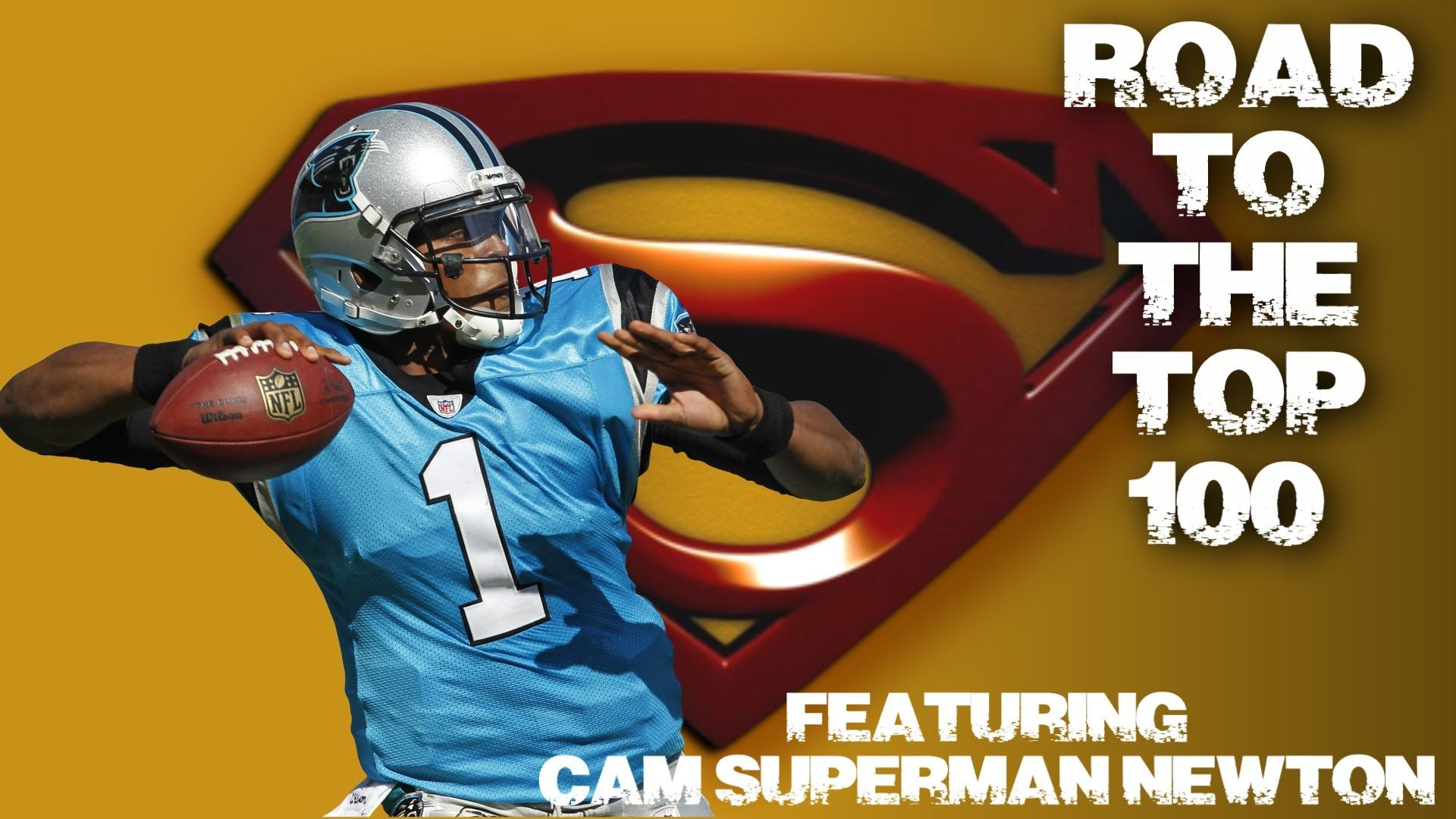 Madden 16 Gameplay vs Carolina Panthers | Road To Top 100 Series | Cam N...