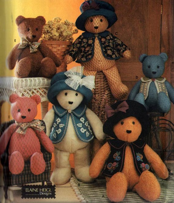 OOP Simplciity Craft Pattern 5461 18 and 22 inch by sandritocat, $7.00