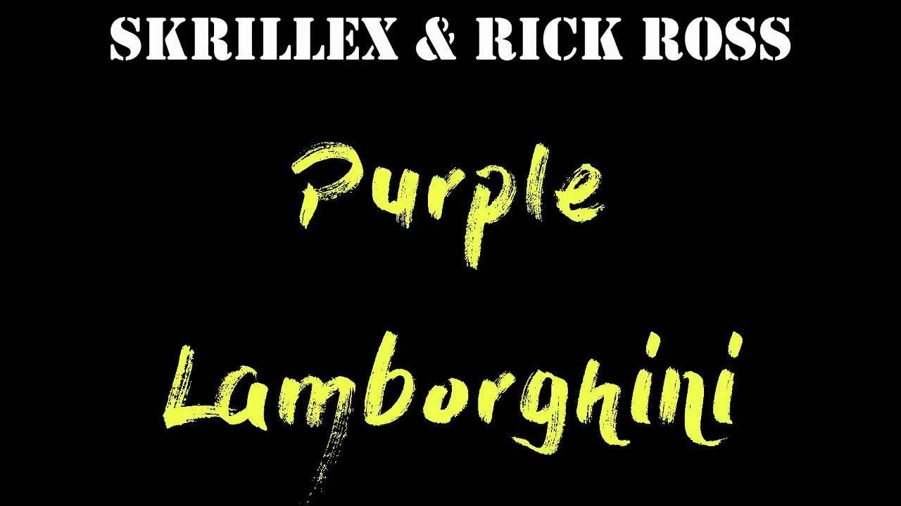 Purple Lamborghini Lyrics Auto Bild Ideen