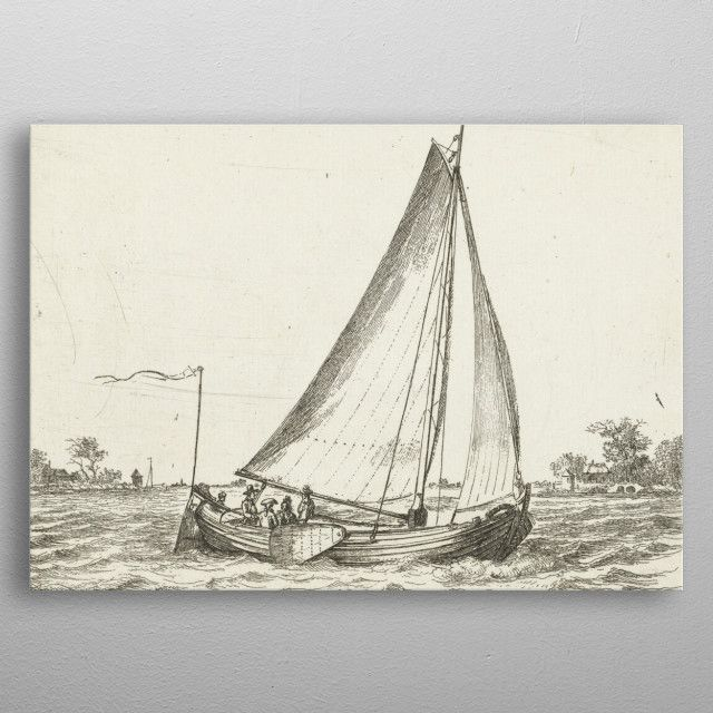 Vintage Marine Graphic by Fine Art | metal posters - Displate | Displate thumbnail