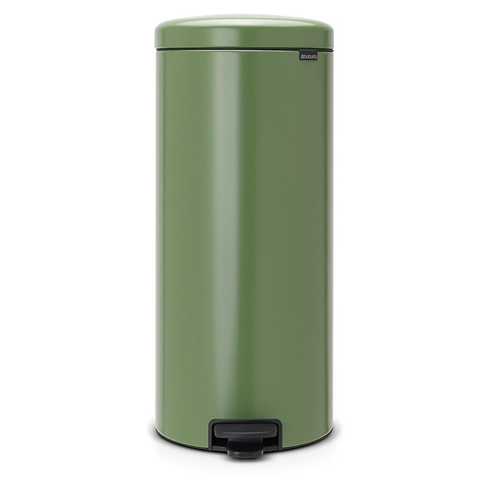 Brabantia 8-Gallon Newicon Pedal Bin Trash Can In Green ...