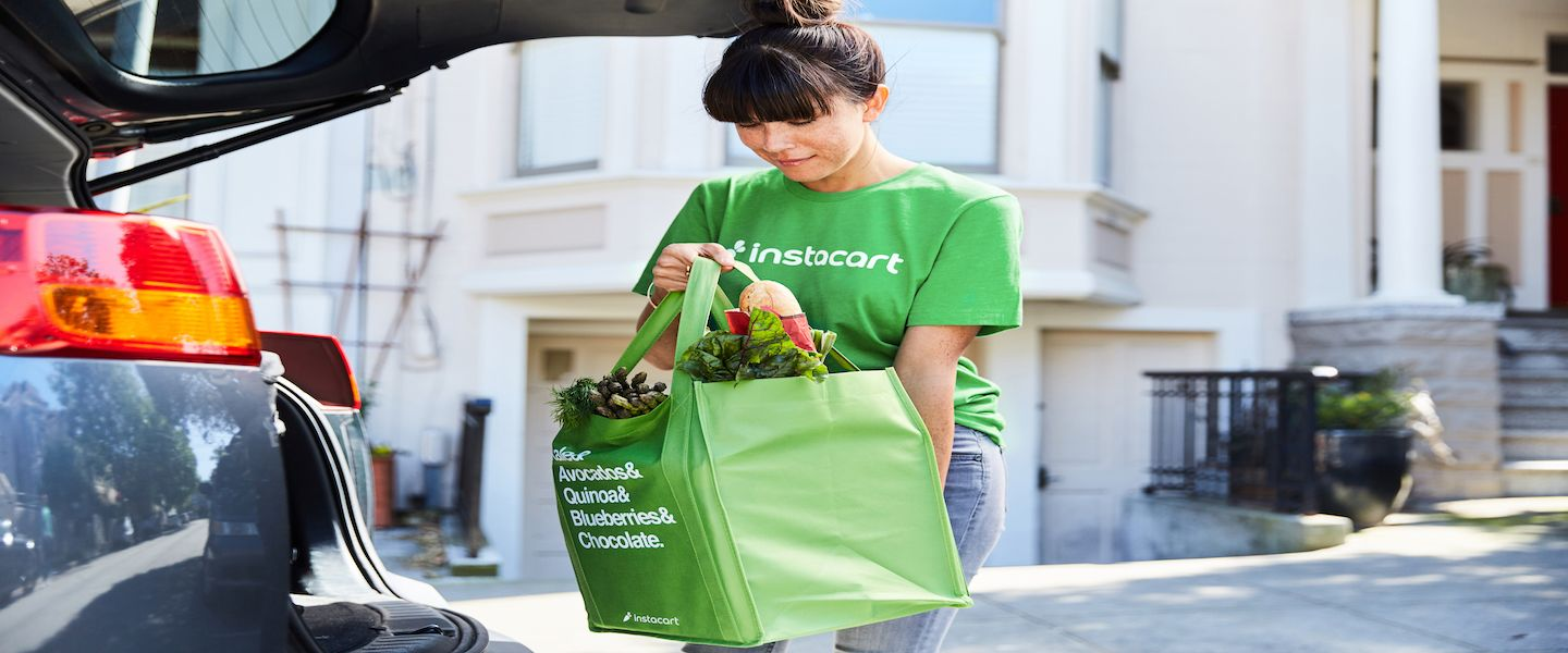 Instacart Valued At 7 6 Billion In Crowded Grocery Delivery