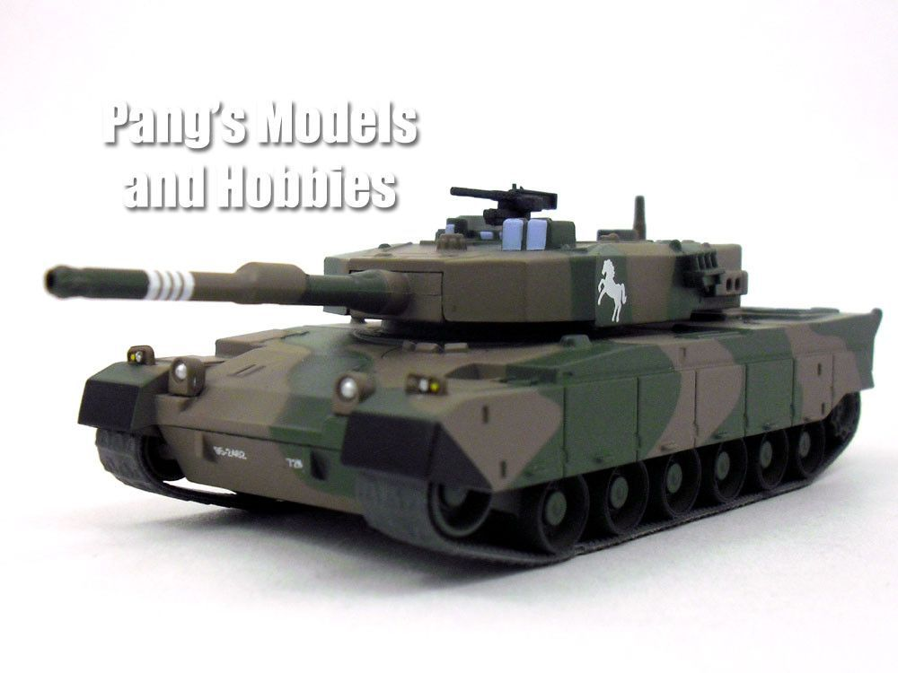 63a22654a799 1 72 Scale Metal Diecast – Type 90 (Type-90) Main Battle Tank - Japan  Ground Self-Defence Force (JGSDF) - Length  6.5