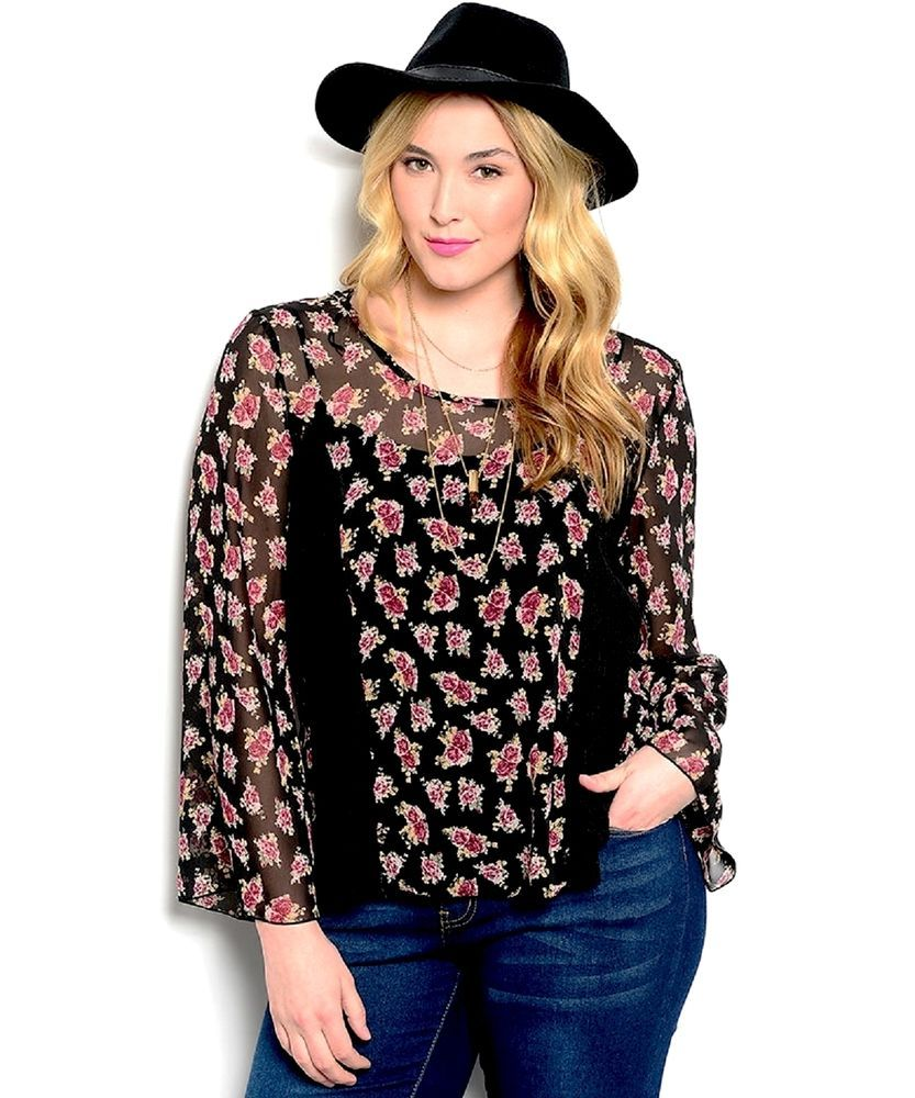 5886088f596 Womens Sheer Floral Top Lace Inserts Back Ties Split Open Back Shop The  Trends  ShopTheTrends  Wrap  Clubwear