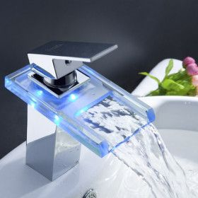 Lighted faucet
