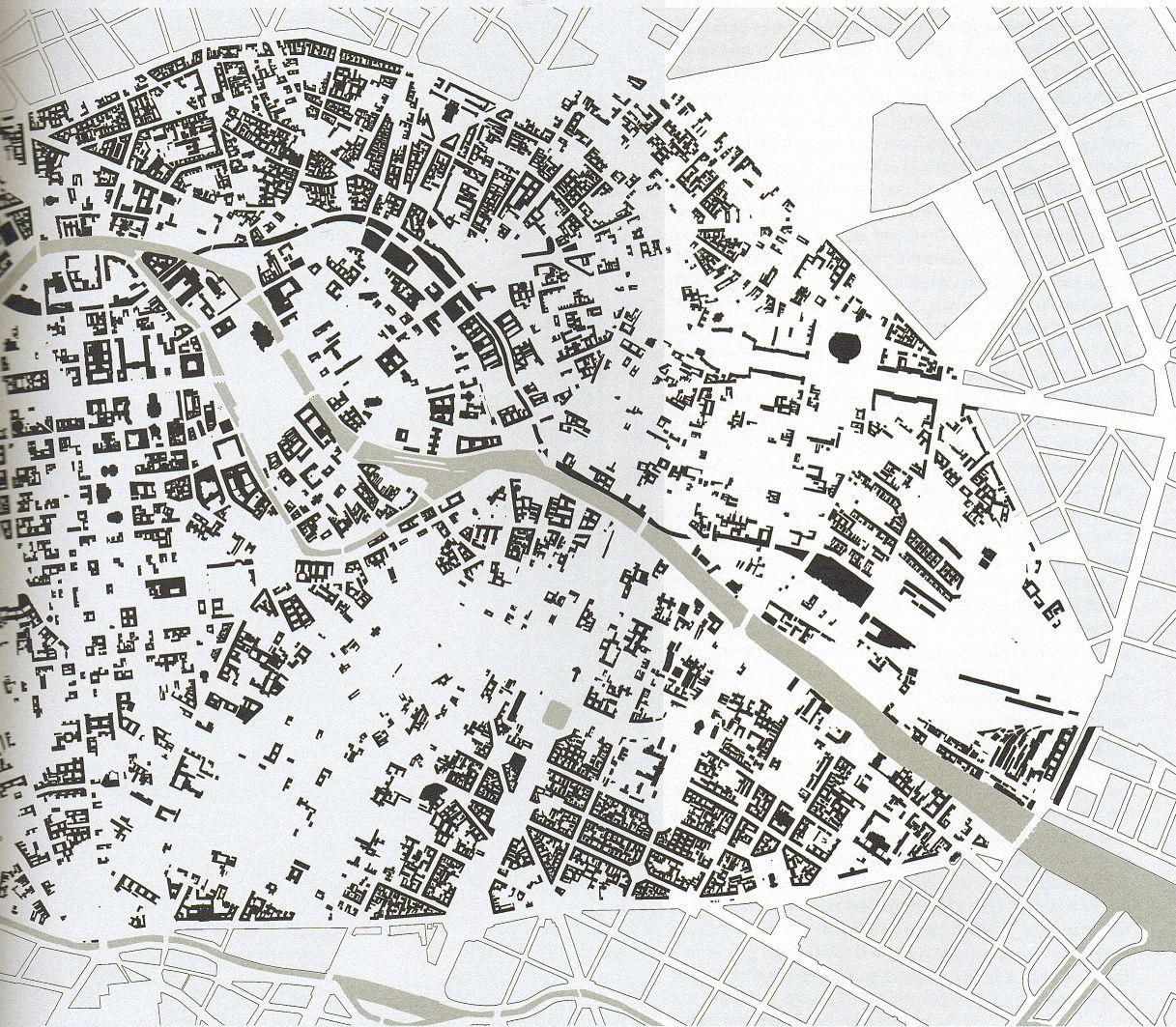 Berlin Mitte Karte.Karte Des Bezirks Mitte In Berlin Im Jahr 1953 Viele Straßen Mirt