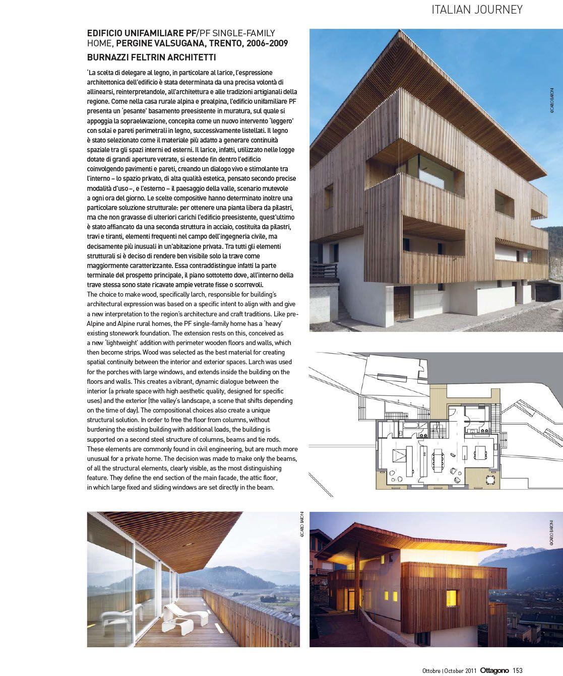 BFA | Ottagono, n.244 – October 2011 Editrice Compositori #architecture #mountains #design #interior #contemporary #modern