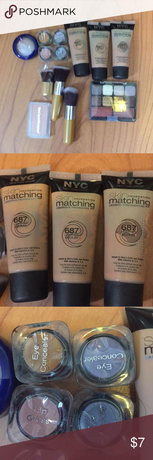 Makeup bundle light/ medium NYC foundation CHEAP Make up