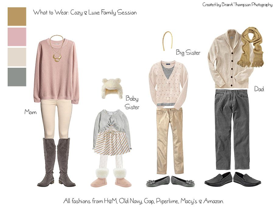 What To Wear Cozy Luxe Winter Family Session Outfits Brandi Thompson Photography