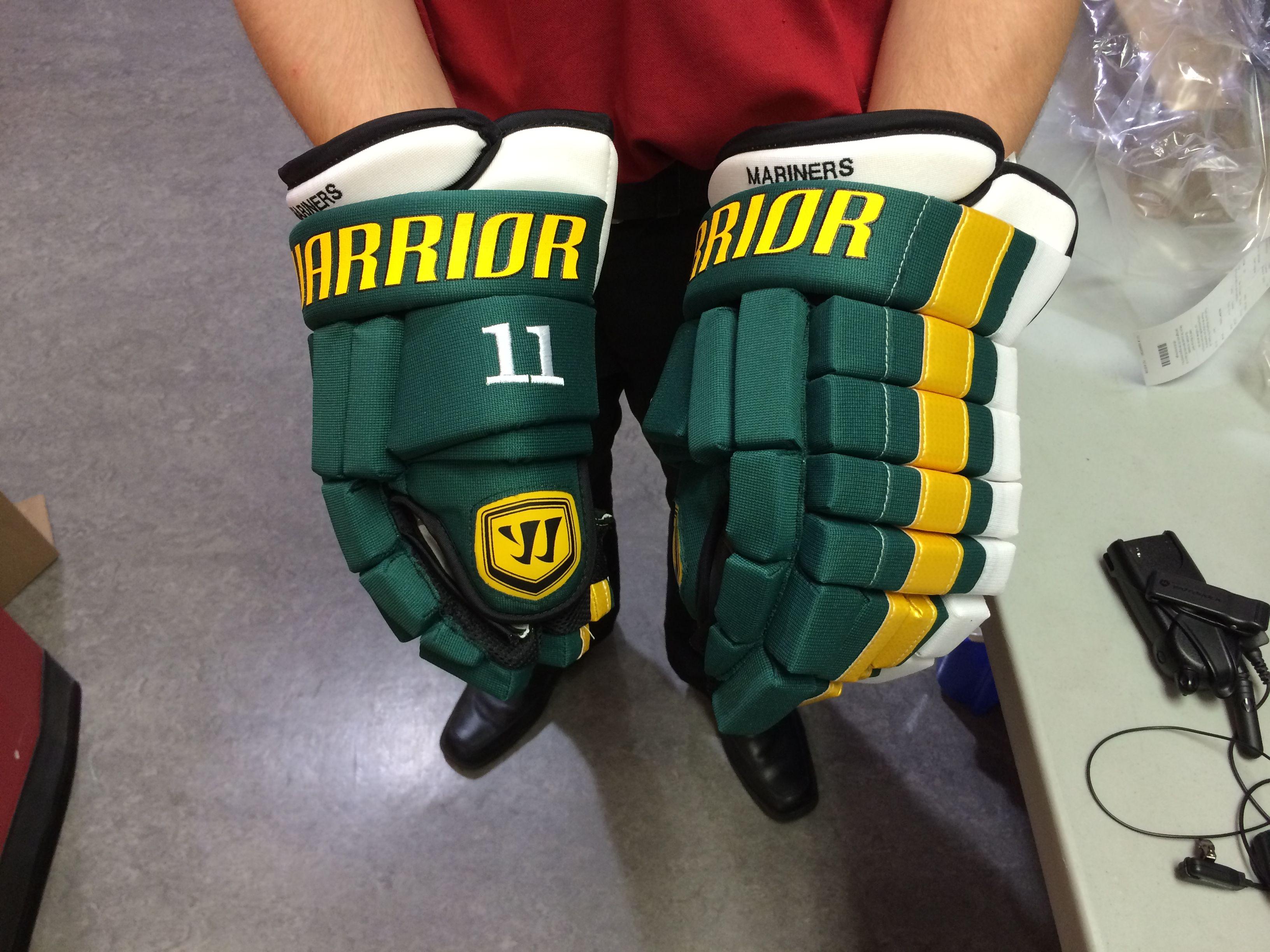 Warrior Franchise custom gloves made for a customer  Do you
