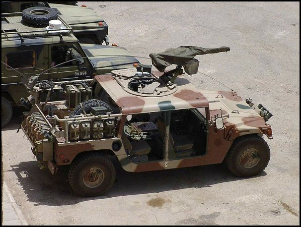 Denmark Special Forces HMMWV Military Vehicles