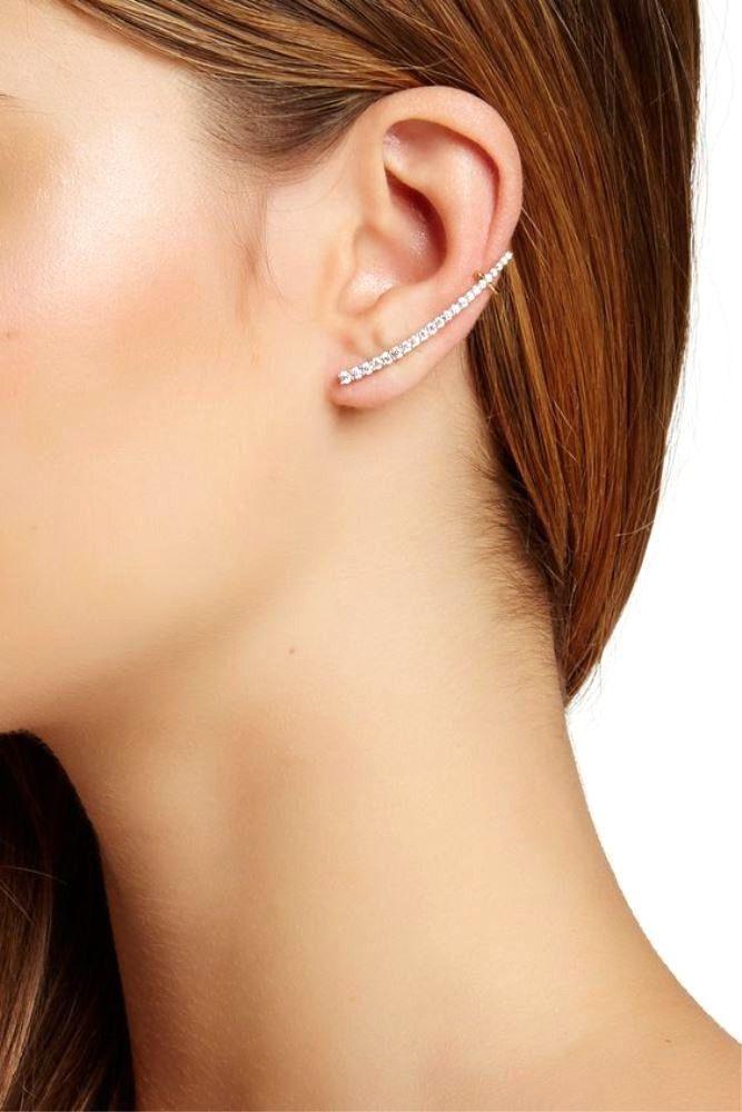 Stella + Ruby Crystal Ear Cuffs