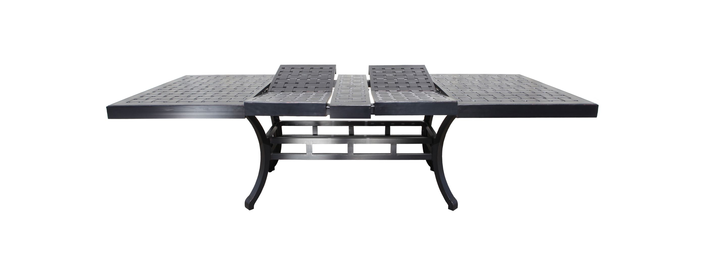 Buy Modern Hampton Cast Aluminum Extendable Patio Table From Our