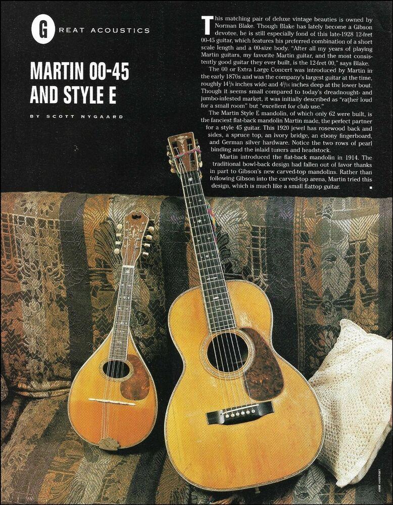 1928 Martin 00 45 Vintage Acoustic Guitar 1920 Style E Mandolin Article Photo In 2020 Martin Acoustic Guitar Guitar Acoustic