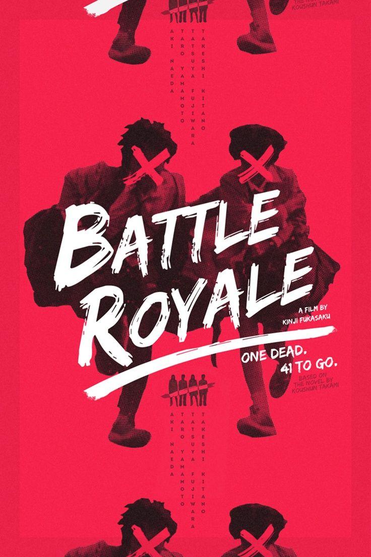 typography graphic design battle royale re covered film poster contest winner keorattana luangrathajasombat