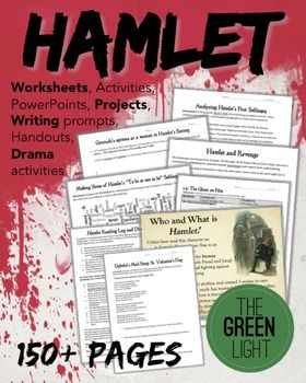 If you're teaching Shakespeare's Hamlet, you need this bundle ...