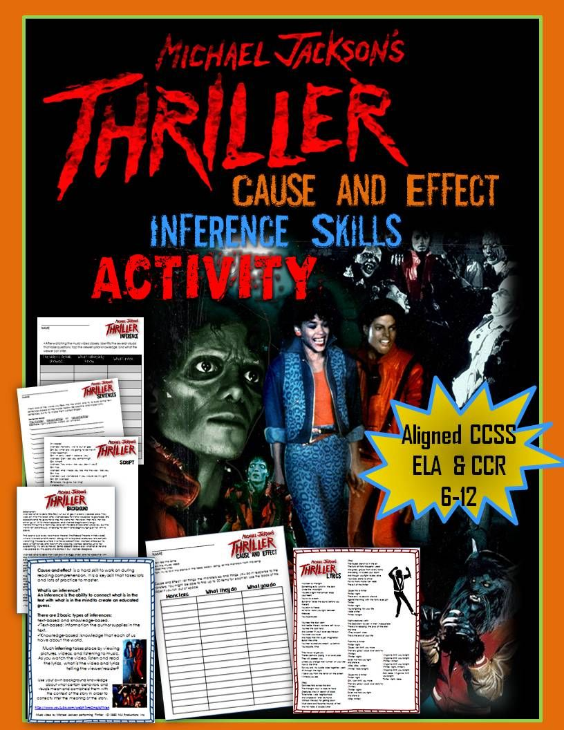 Halloween Cause And Effect And Inference Skills Using
