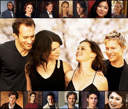 Gilmore Girls. Seen every episode in every season probably at least 6 times. Still obsessed.
