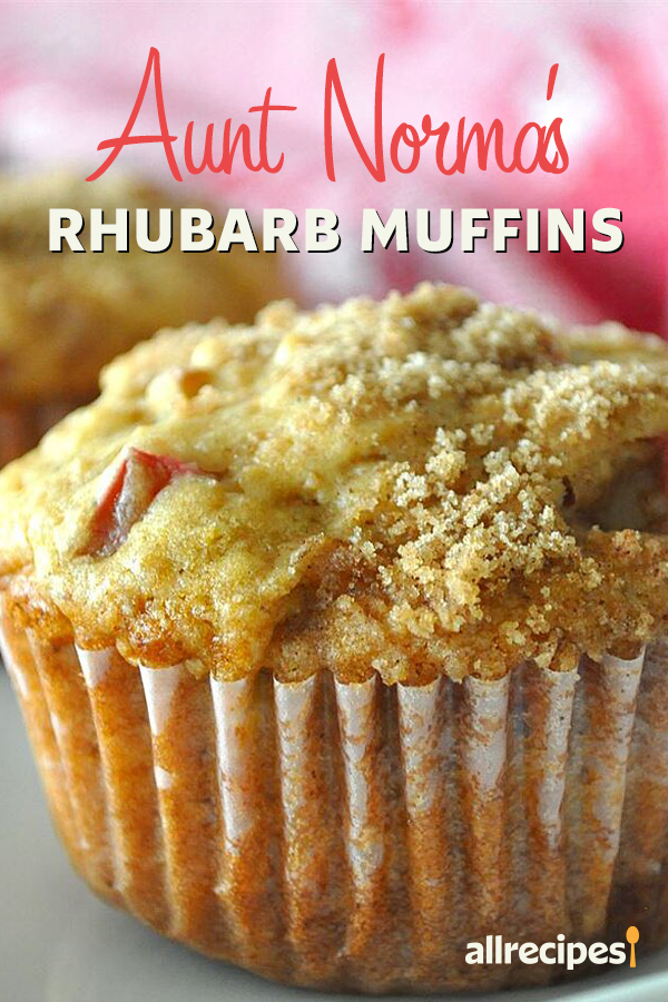Aunt Norma S Rhubarb Muffins Recipe In 2020 Easy Rhubarb Recipes Rhubarb Recipes Muffins Rhubarb Muffins