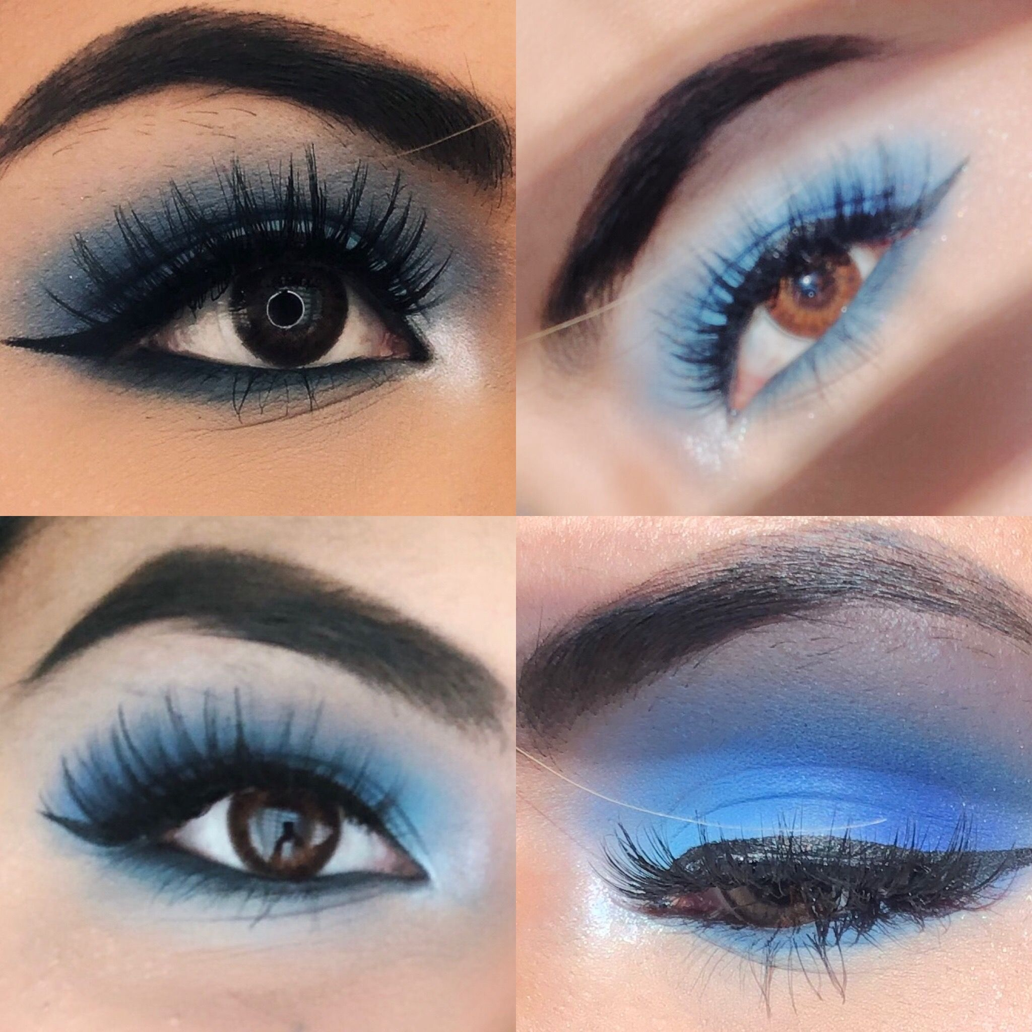 I created this eyeshadow look using the Jeffree Star