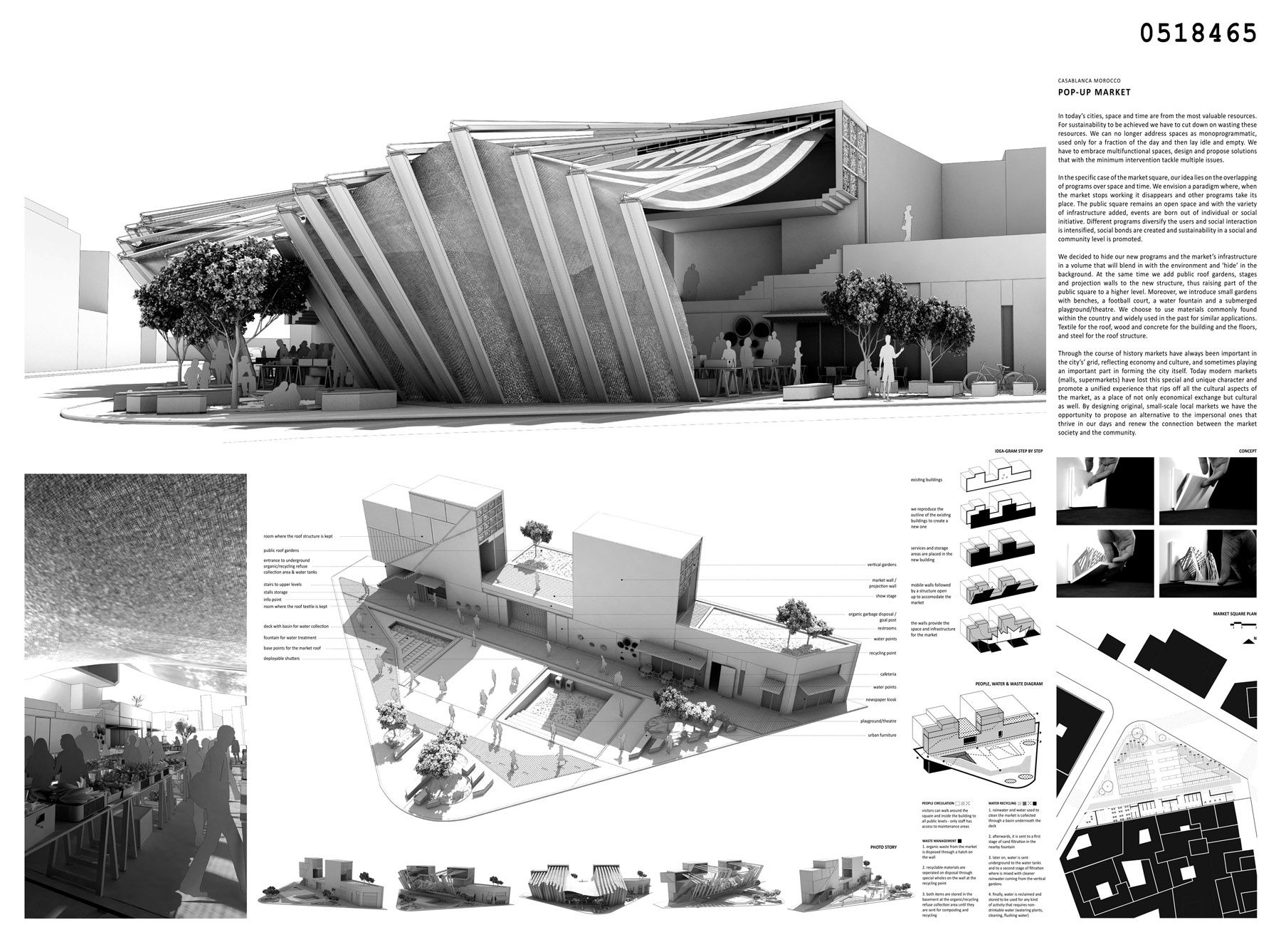 Positive Magazine Architecture Casa Blanca Competition For New Sustainable Market Square