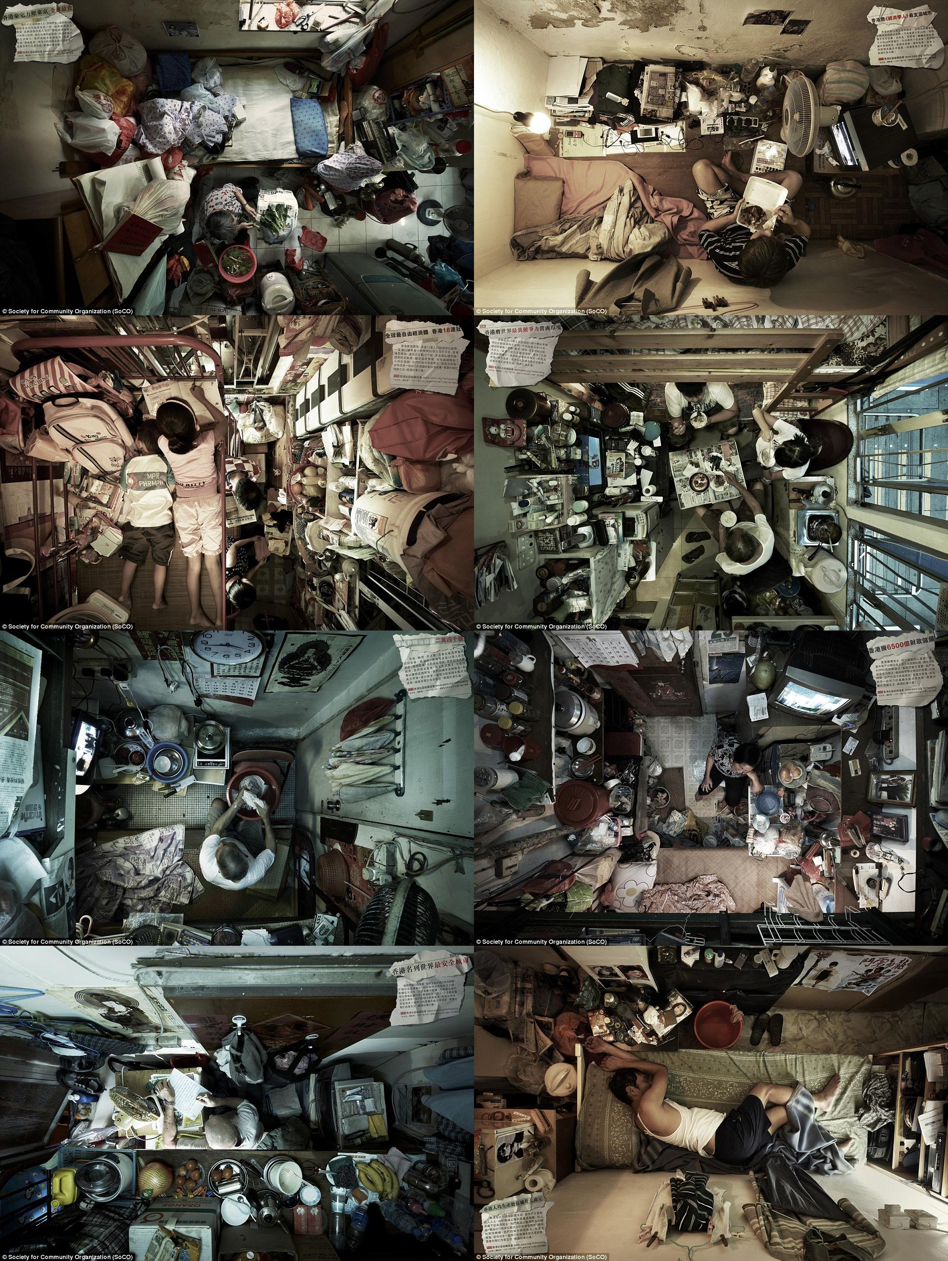 Tiny Hong Kong flats - small spaces | CULTURE | Pinterest | Eye ...