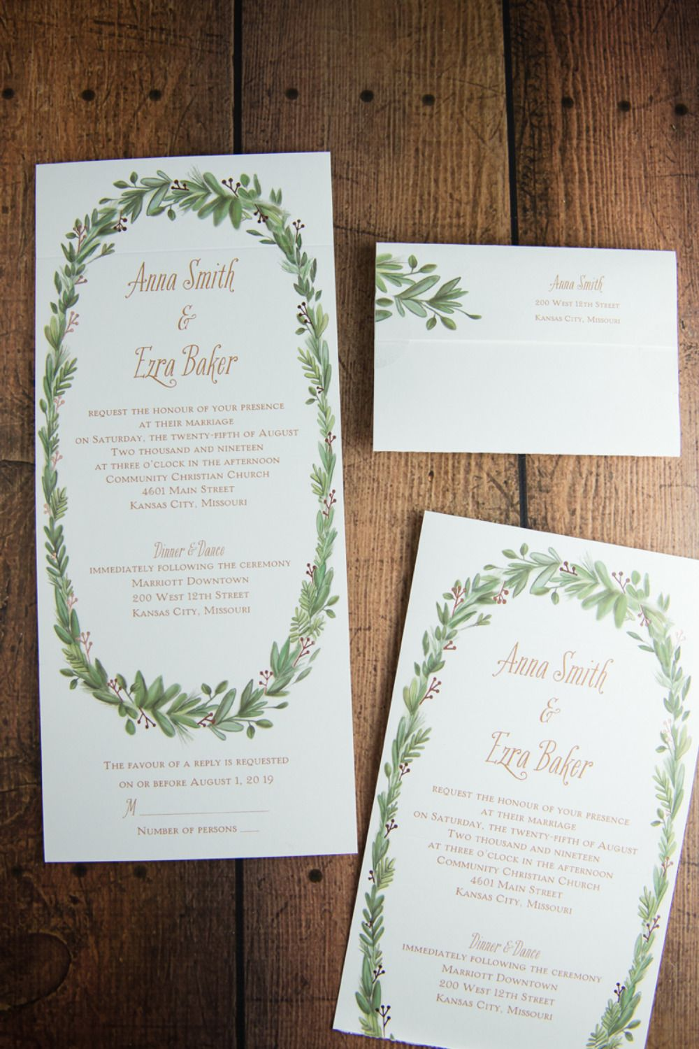 Wedding Invitations & Cakes For Cold Weather Weddings | Rsvp ...