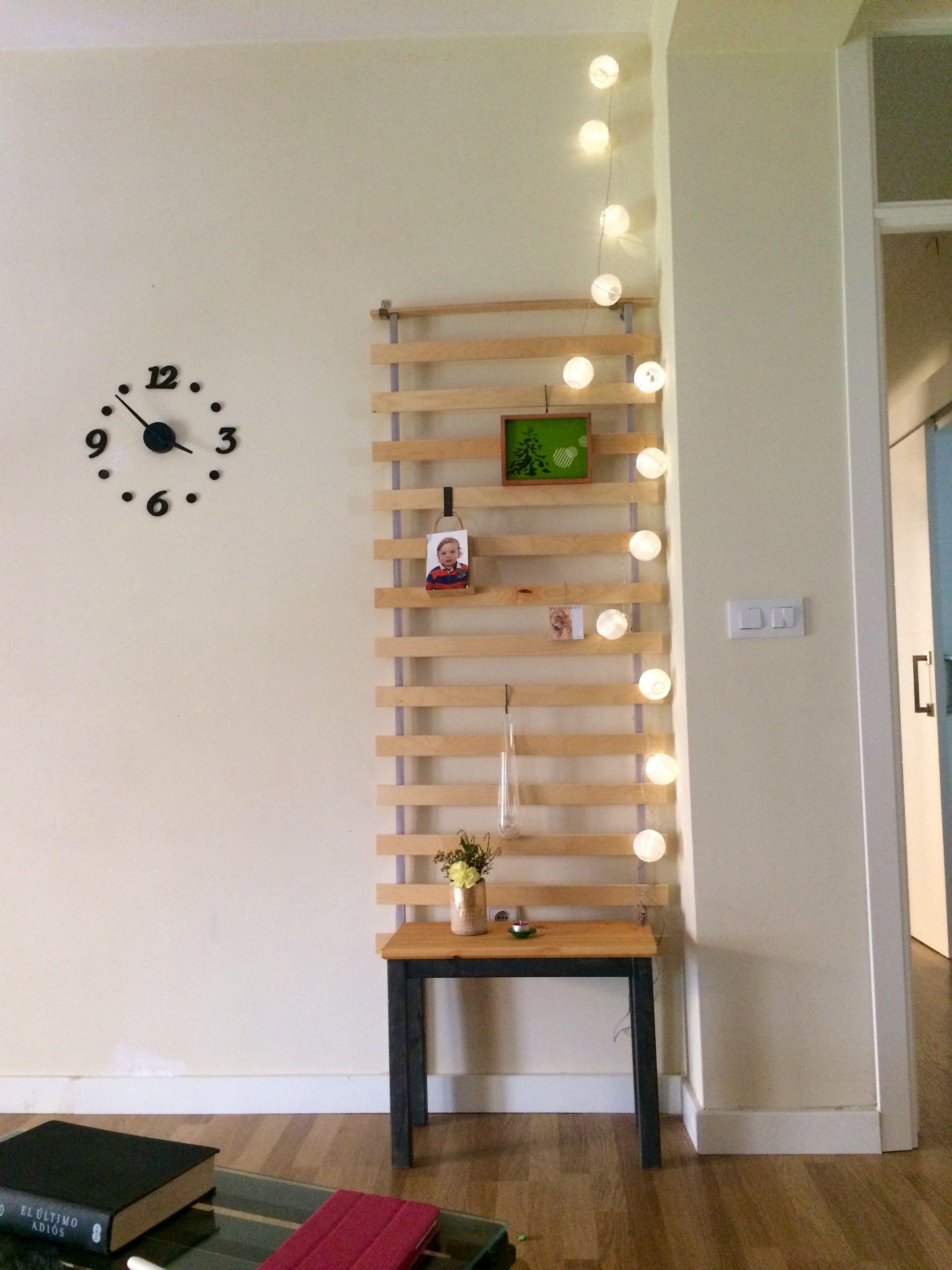 IKEA hack Somier de lamas de madera LURÖY | Me gusta mi casa ...