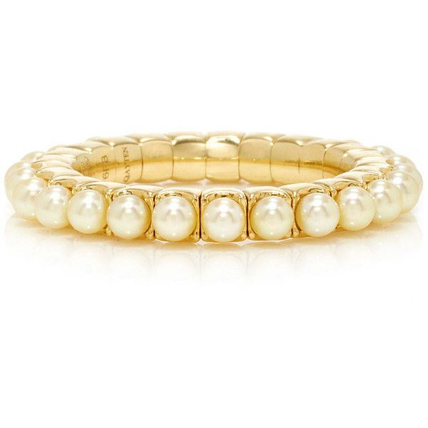 Qayten EZ Yellow Pearls Ring (4.382.250 COP) ❤ liked on Polyvore featuring jewelry, rings, white pearl ring, yellow jewelry, yellow pearl ring, yellow ring and pearl jewelry