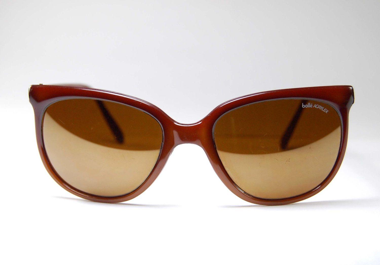 Eye In Oversized Made France Sunglasses Cat Bolle Vintage KT31lJFc