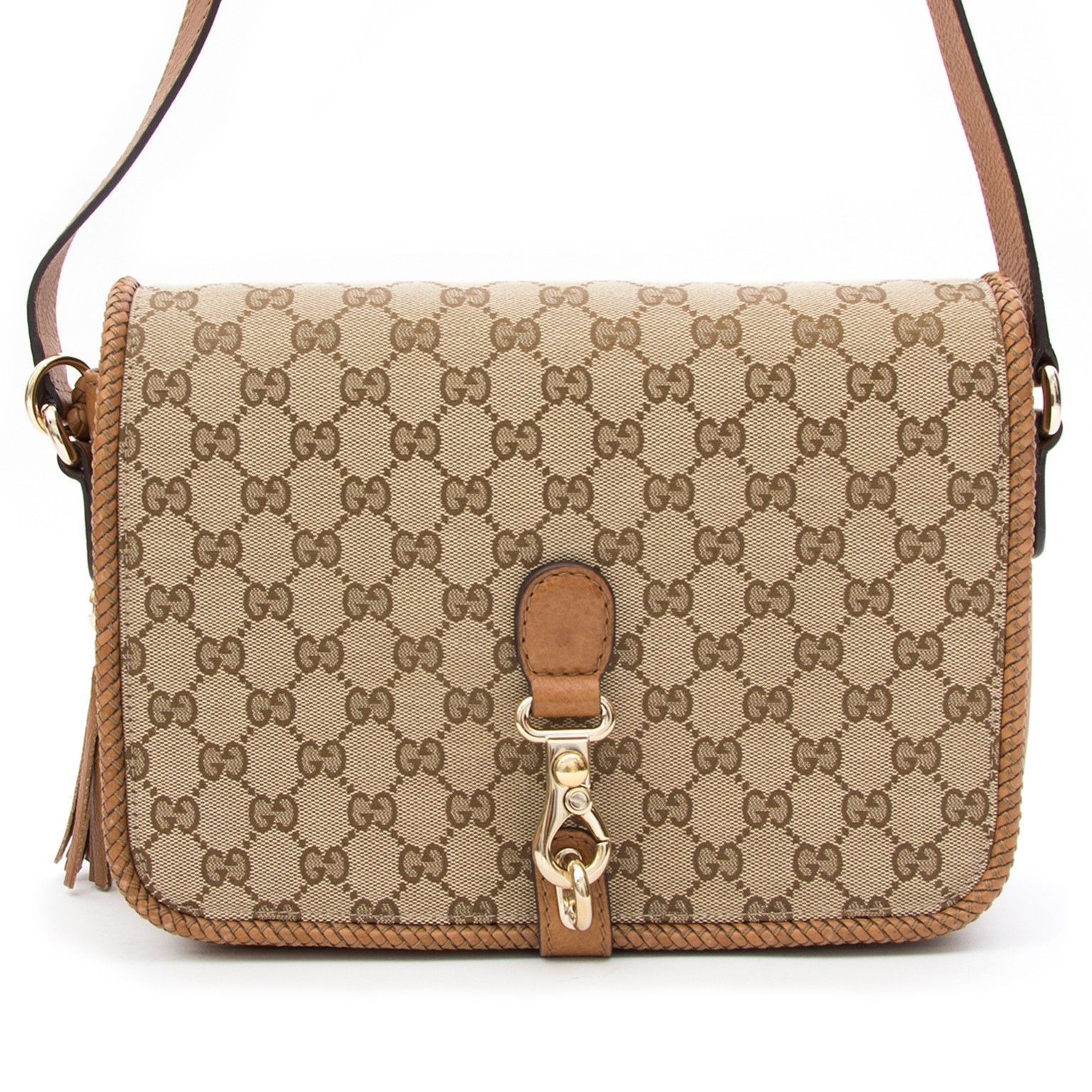 e7d6f3968a8 Buy authentic secondhand Gucci bags at the right price at LabelLOV vintage  webshop. Gucci Marrakech Medium Messenger Bag