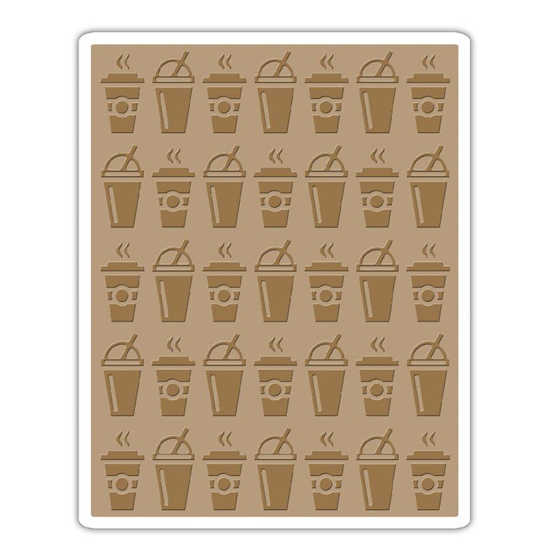 Sizzix Tim Holtz Alterations Collection Texture Fades Embossing Folder On The Go