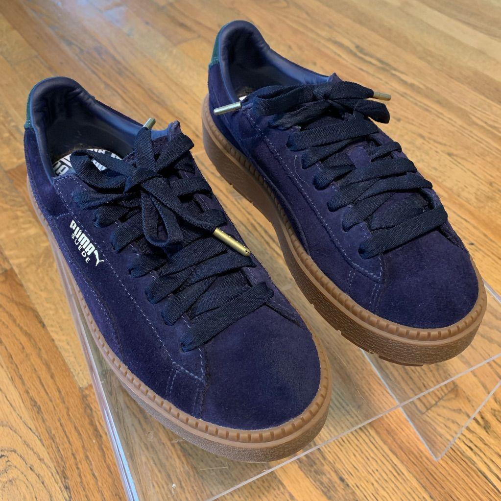 Puma Shoes   Puma Suede Platform Trace Bold Sz 7.5   Color