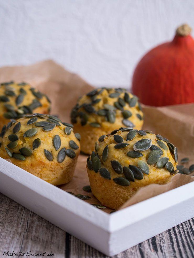 Süßes Kürbis Muffins mit Zimt Rezept - MakeItSweet.de