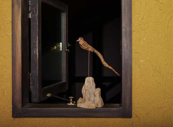 2016-流木の鳥ー9  ★  #流木の鳥 #流木オブジェ #流木 #流木アート #屋久島アート #インテリア #Driftwood Art #Interior