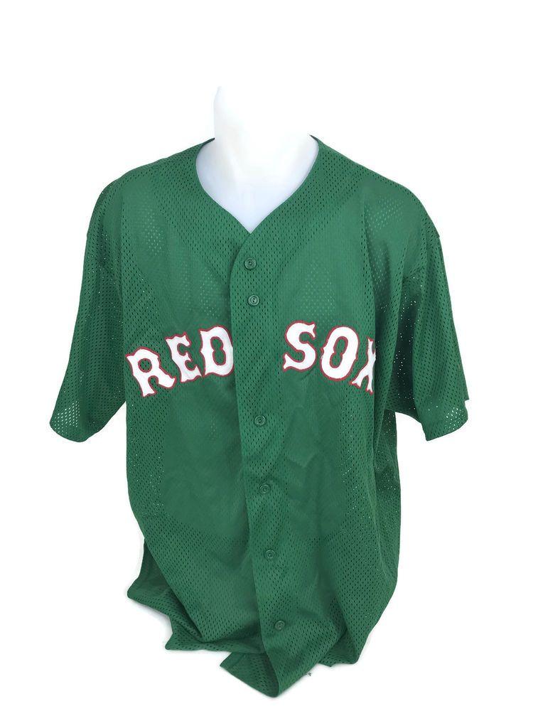 more photos b8289 9c598 Boston Red Sox MLB Curt Schilling Green St. Patricks Day ...