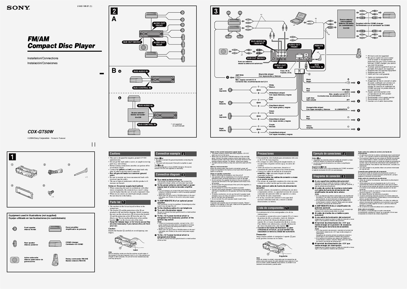 Unique Wiring Diagram Sony Car Stereo Diagram Diagramtemplate Diagramsample