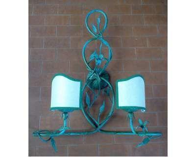 Applique design ferro battuto . 166