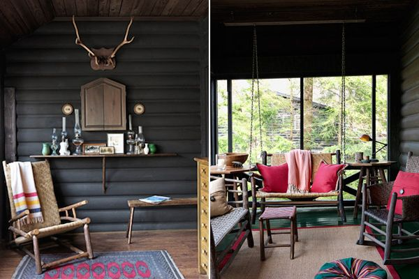 Modern Rustic Wood cabins Rustic wood and Cabin