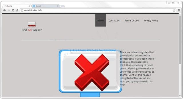 Red AdBlocker is an adware program which tends to steal your personal information which you use over internet and expose the same to cyber criminals. Must remove Red AdBlocker from your computer.