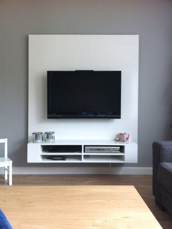 90 Wall Mount Tv Ideas For Small Living Room 4766 Smalllivingroomideas Wallmounttv Mounttv Floating Tv Stand Floating Tv Cabinet Floating Cabinets