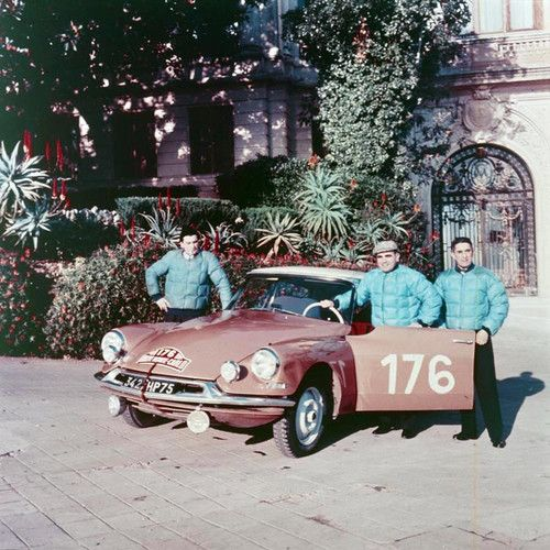 Citroën ID 19 At Monte-Carlo