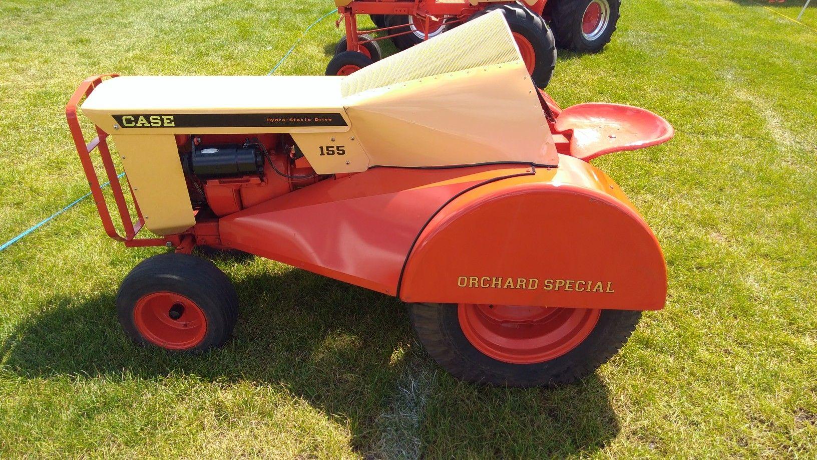 J I Case 155 Garden Tractor Made Into A Mini Orchard Special Garden Tractor Tractors Antique Tractors